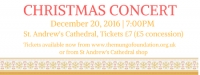 Mungo Foundation Fundraising Christmas Concert - St Andrew's Cathedral